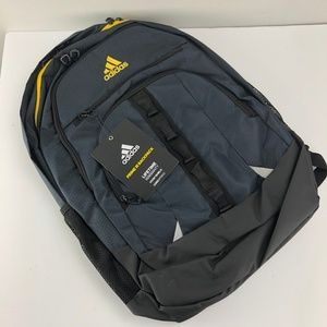 Adidas Prime III Black Yellow Backpack
